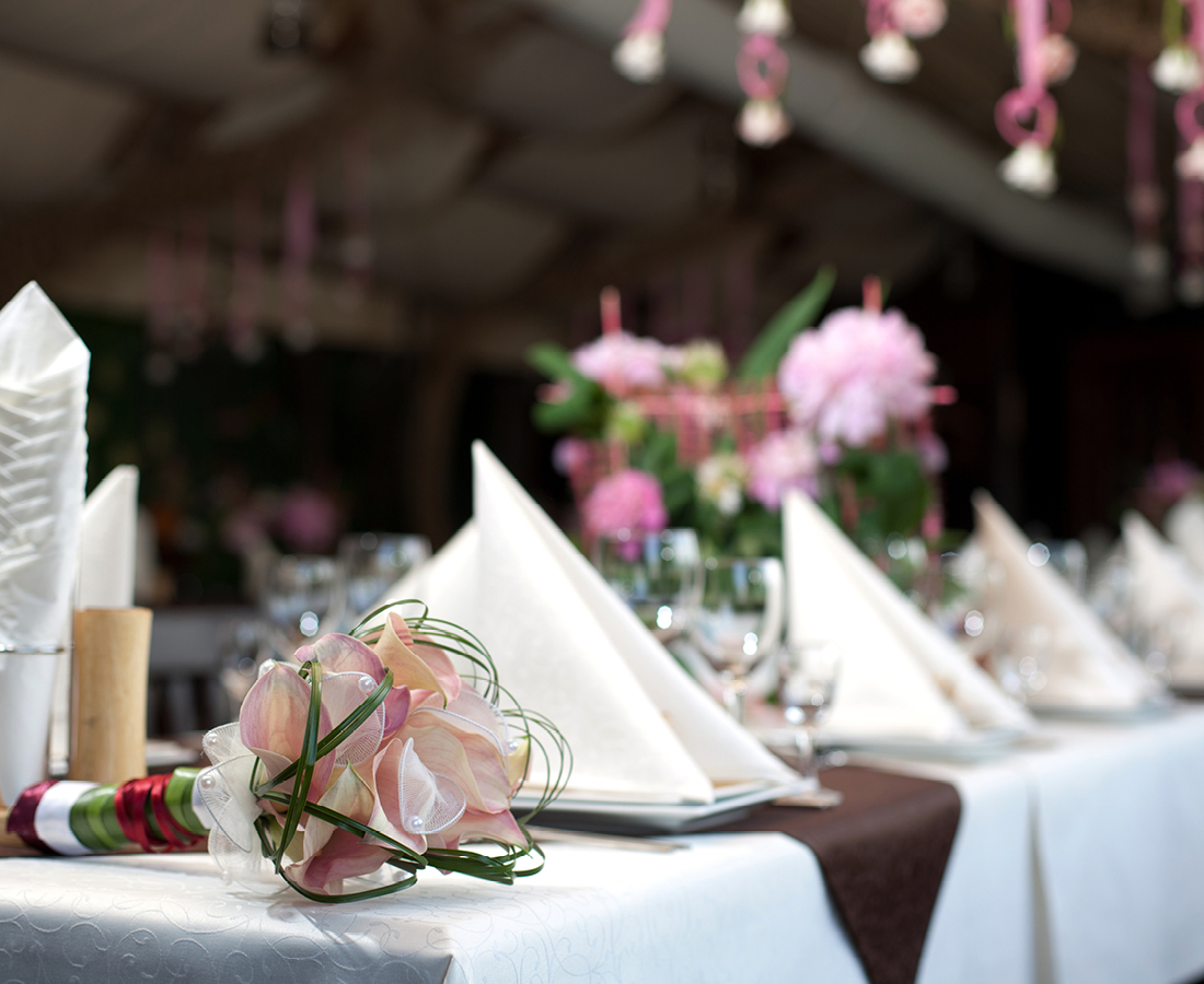 wedding catering UK